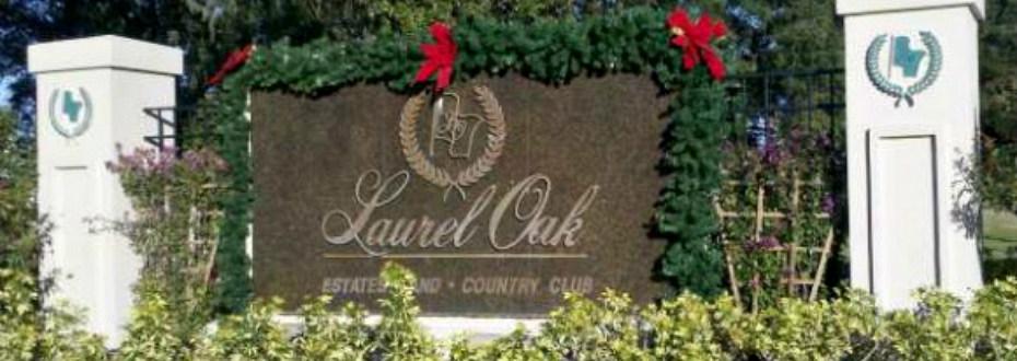 Entrance to Laurel Oak Estates